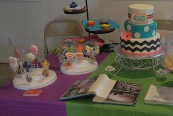 Erika makes beautiful cakes like this!